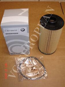 BMW E38 E39 Genuine Engine Oil Filter Kit NEW 540i 740i 740iL 750iL M5
