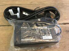 More details for new genuine epson m235b printer power supply 24v 1.5a & iec mains lead