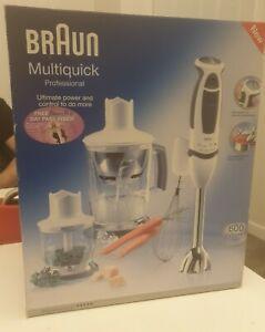 Braun Hand Blender, multiquick professional MR 6550 M BC-HC