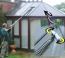 CONSERVATORY OR SOLAR PANEL  ROOF CLEANER.WATER FLOW FED POLE 5.23 METRE17ft