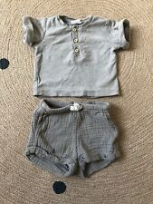 H&M Baby Exclusive Baby Boy Short & top Set 1-2 Months