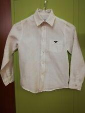 BNWT Ragazze BACK TO SCHOOL 2 bianco a maniche corte camicie camicette età 3-4 ANNI NUOVO