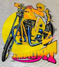 Last1 70s vTg Triumph Chopper Motorcycle easy rider Evel Knievel T-Shirt Iron On