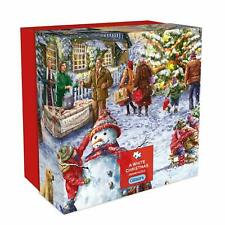 Gibsons A White Christmas Gift Box Puzzle, 500 piece