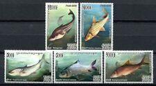 Kambodscha Cambodia 2005 Fische Fishes Poissons Pesci 2380-2384 Postfrisch MNH