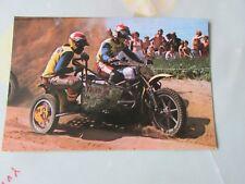Cor den biggelaar & Cor van der Biji 1976 Motocross Postal por vanderhout
