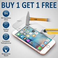 100% GENUINE TEMPERED GLASS FILM SCREEN PROTECTOR FOR APPLE IPHONE 6 PLUS -NEW