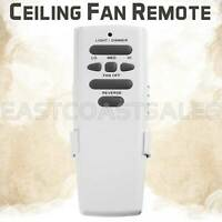 Ceiling Fan Remote Control for Hampton Bay UC7078T with Reverse
