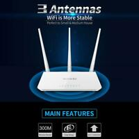 Tenda F3 300Mbps WiFi Router Wireless Repeater Extender 2.4GHz w/ 3-Antenna