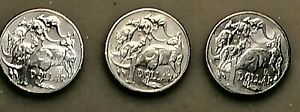 2019 Australian $1 One Dollar Coin A U S Privy Mark Set of 3 Coins Unc condition