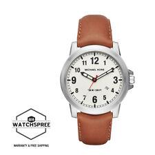Michael Kors Men's Paxton Light Brown Leather Strap Watch MK8531