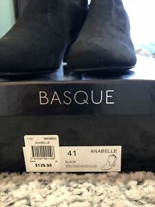 Basque Black Womens Ankle Boot Size41