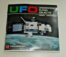 * SEALED * UFO GERRY ANDERSON GAF VIEWMASTER REELS 1969 SET B417 RARE   F770