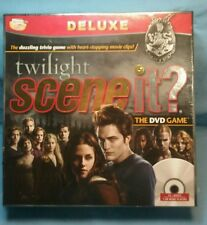 Scene It? TWILIGHT  Edition   DVD Trivia Board Game Mattel  new sealed