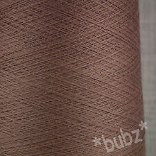 100% Pure cashmere Yarn 100 G Cône mauve taupe italien en toile d'araignée fine dentelle à tricoter