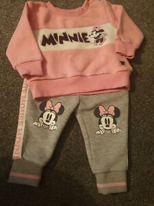 Girls Disney minnie mouse tracksuit