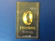 New Zealand LORD OF THE RINGS stamp booklet