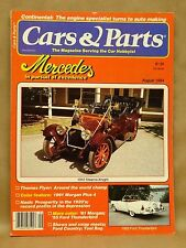 Vtg Cars & Parts Magazine 1984 August Stearns Knight Ford Thunderbird Mercedes
