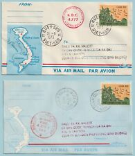 UNO 1973 Waffenstillstandskommission Vietnam 2 Feldpostbriefe.