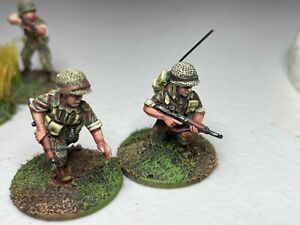 28mm Red Star French Paratroopers  Indochina war Pro-Painted