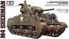 Tamiya Model Kit - M4 Sherman Early Production Tank - 1:35 Scale - 35190