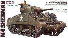 Tamiya Model Kit-M4 Tanque Sherman principios de producción-escala 1:35 - 35190