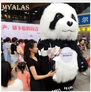 Advertising Adults Inflatable Panda Bear Suit Mascot Costume Fancy Dress 2.6m/3m