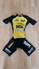 Original Shimano Lotto Jumbo Rennanzug Speedsuit Sprintsuit (M)