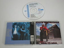 STEVIE RAY VAUGHAN AND DOUBLE TROUBLE/SOUL TO SOUL(EPIC 466330 2) CD ALBUM