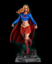 DC Superman Supergirl Custom Resin Model Kit GK Figure Statue 1/10