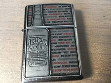 ZIPPO LIGHTER JIM BEAM EMBLEM PETROL REFILABLE NEW  RARE