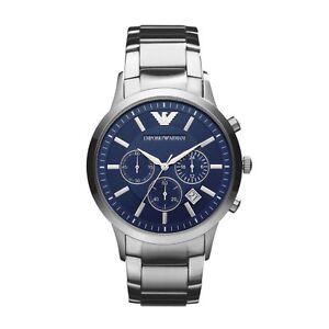 Emporio Armani Renato Men's Stainless Steel Watch Model Number: AR2448 RRP£269