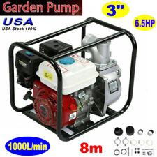 3 Inch 65hp 8m Gas Water Semi Trash Pump Petrol High Pressure Garden Irrigation