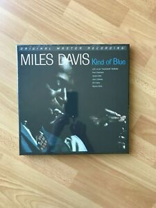 Miles Davis Kind Of Blue  Mobile Fidelity Sealed New MFSL
