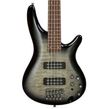 Ibanez Sr Standard Sr405Emqm 5-String Electric Bass Guitar - Surreal Black Burst