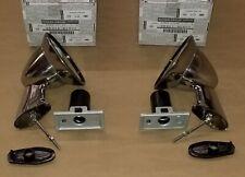 Nissan OEM Fender Side Mirrors Chrome Bullet Style for Datsun 510 SSS Pair