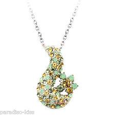 Collana Donna Cristallo Swarovski elements elegante multicolore A128