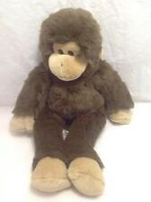 Build A Bear Monkey Ape Chimp Plush Stuffed Animal Brown w/Voice Box