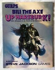 1988 Gurps Bili The Axe Up Harzburk, W.G. Armintrout Steve Jackson Games