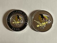 (1) Rare Iconic Philadelphia Cricket Club Double-Sided PRG Medallion Golf Marker