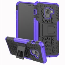 Hybrid Case 2 Pieces Outdoor Purple Pouch For Samsung Galaxy A8 A530 2018