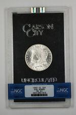 1882-CC GSA Morgan Silver Dollar $1 NGC MS-63 w/ Box & COA