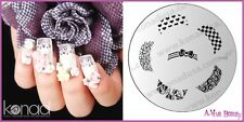 Konad Stamping Nail Art Image Plate M56 CUTE BOW TIPS