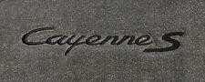 Lloyd Mats Porsche Cayenne S Custom Embroidered Cayenne S Floor Mats (2003 & Up)