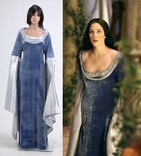 The Lord Of The Rings Arwen Traveling Dress Costume [Custom Made]