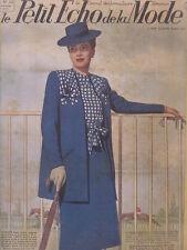 Le Petit Echo de la Mode N° 14  du 06/04/1941 Journal Naisance