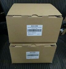 LOT OF 2 NEW M/A-COM HARRIS JAGUAR RAPID DESK CHARGER AC 120 - 230V BML 161 78/6