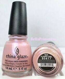 China Glaze Nail Polish Flower Girl 824 Opalescent Cotton Candy French Manicure