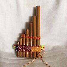 African bambù flauto di Pan TUBI realizzato a mano