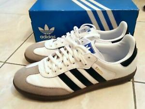 Adidas Samba OG taille 43 1/3 noir blanc white black homme Sport basket LIKE NEW
